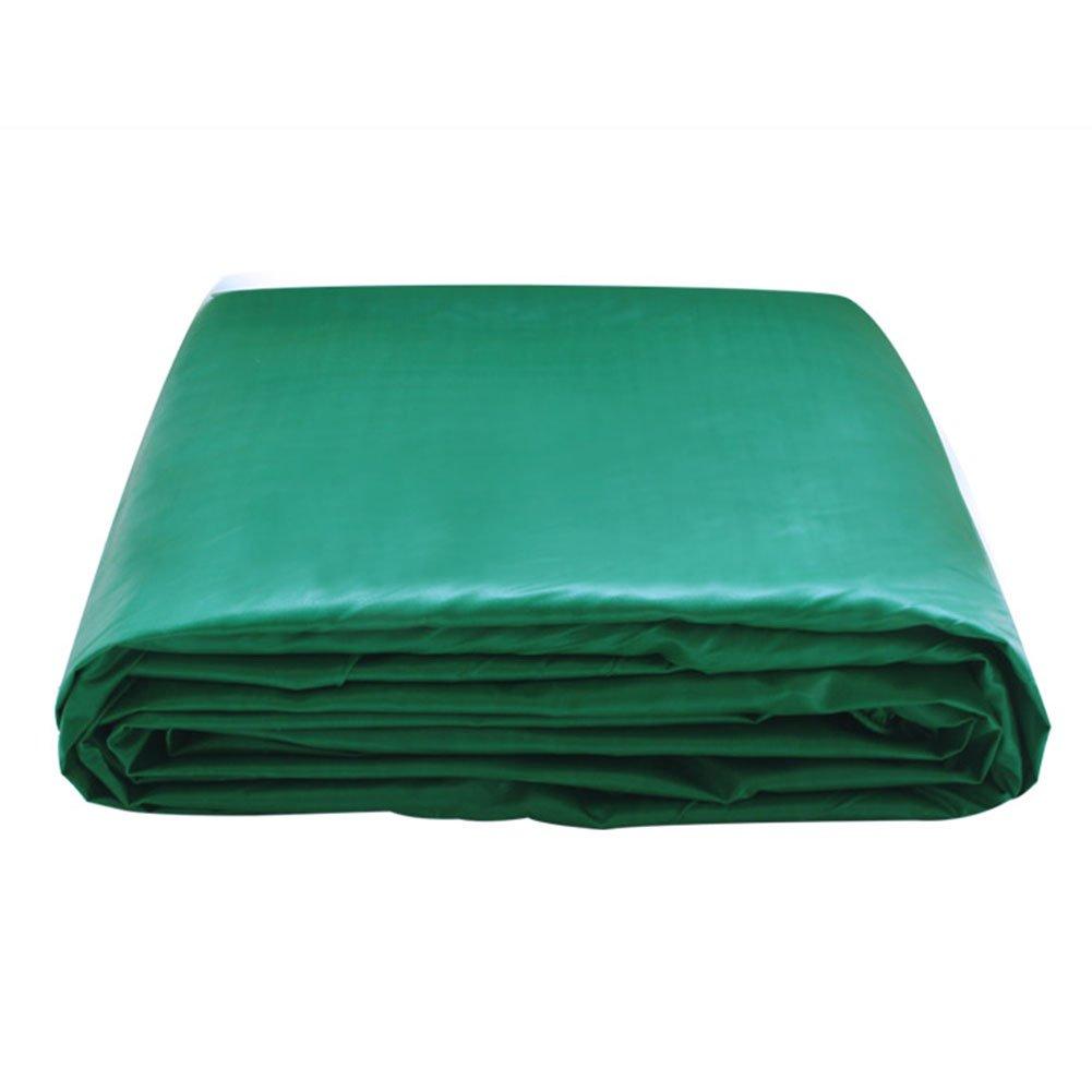 KXBYMX Staubdichtes Autoplanen-korrosionsBesteändiges zerreißendes Verdickung PVC des Plane-Zeltes regendichtes Sonnenschutzmittel, grün Plane wasserdichter, strapazierfähiger, hochwertig