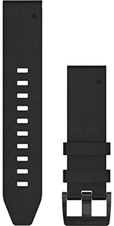 Black 010 12740 Band 01 Leather Watch 22 Quickfit Garmin 0Xk8nwPO