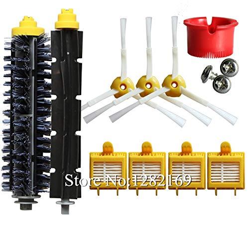 ANJUYA 1 Set Robot Vacuum Cleaner Bristle 4X Side Brush Vacuum Filter