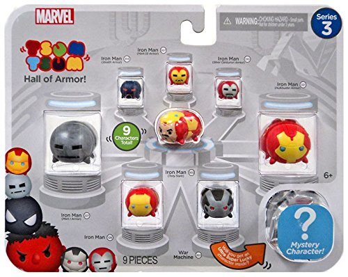 Marvel Tsum Tsum 9 PacK Figures Series 3 Style #1