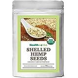 #10: Healthworks Organic Shelled Hemp Seeds 2lb