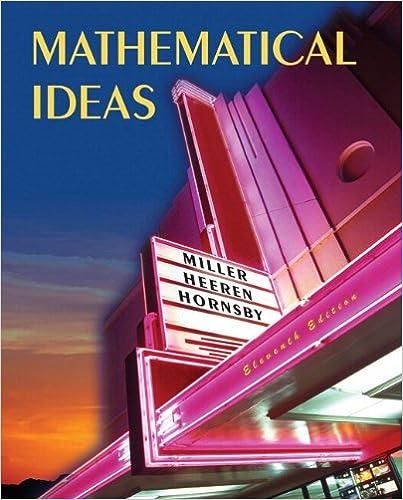 9780321361462: mathematical ideas abebooks charles d. Miller.