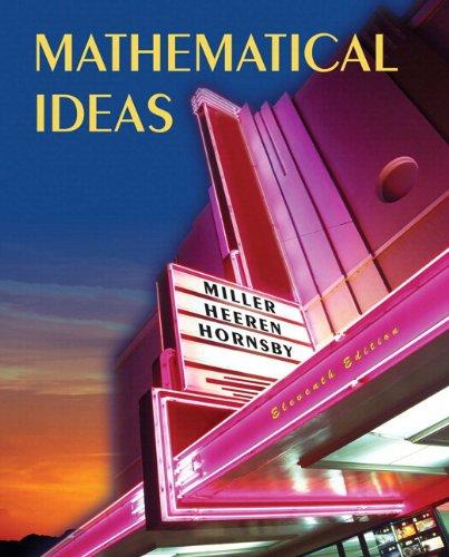 Mathematical Ideas, Books a la Carte Edition (11th Edition)