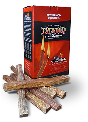 Better Wood Products Fatwood Firestarter Box, 2-Pounds (Best Price On Pellet Stoves)