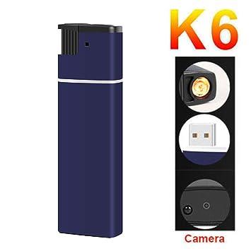 KIICN Recargable Encendedor De Video Encendedor De Cámara Detección De Movimiento DVR Seguridad para El Hogar HD Inteligente: Amazon.es: Bricolaje y ...