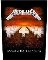 Metallica Master Of Puppets Rückenaufnäher