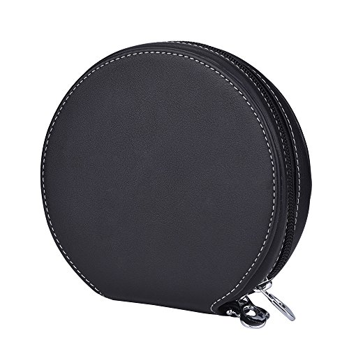 Mudder Portable 20 CD Disc Storage Case Bag Heavy Duty CD/ DVD Wallet for Car, Home, Office and Travel