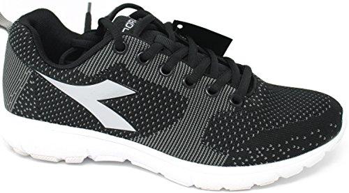 Diadora Schuhe Running damen–X Run Light W–�?72479-c0787–Schwarz/argento-41
