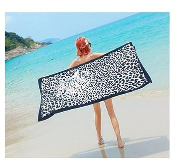 LanLan Femmes Mode Impression Foulard Parasol Photographie Rectangle Châle Plage Serviette S8a1rbXAi