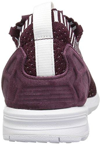 Adidas Originali Da Donna Zx Flux Pk Fashion Sneakers Marrone Chiaro / Marrone Chiaro / Bianco