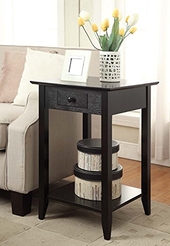 Indoor Study Computer Desk Bedroom Modern Style Table Shelf end table by DASII
