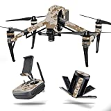 MightySkins Skin for DJI Inspire 2 – Desert Camo | Protective, Durable, and Unique Vinyl Decal wrap Cover | Easy to Apply, Remove, and Change Styles | Made in The USA