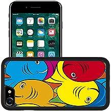 Liili Apple iPhone 7 iPhone 8 Aluminum Backplate Bumper Snap iphone7/8 Case iPhone6 ID: 22980524 Seamles Fish Tessellation Texture Pattern