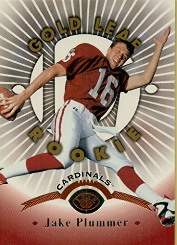 - JAKE PLUMMER - GOLD LEAF ROOKIE CARD NFL FOOTBALL CARD #162 (ARIZONA CARDINALS) FREE SHIPPING AND TRACKING