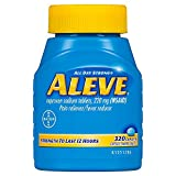 Aleve Caplets with Naproxen Sodium, 220mg (Nsaid) Pain Reliever/Fever Reducer (320 Count) iiiIII