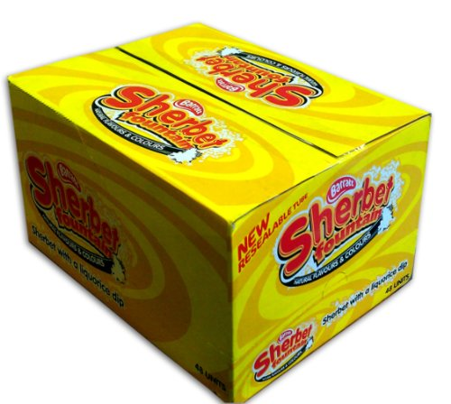(Barratt Sherbet Fountain 48 x 25g)