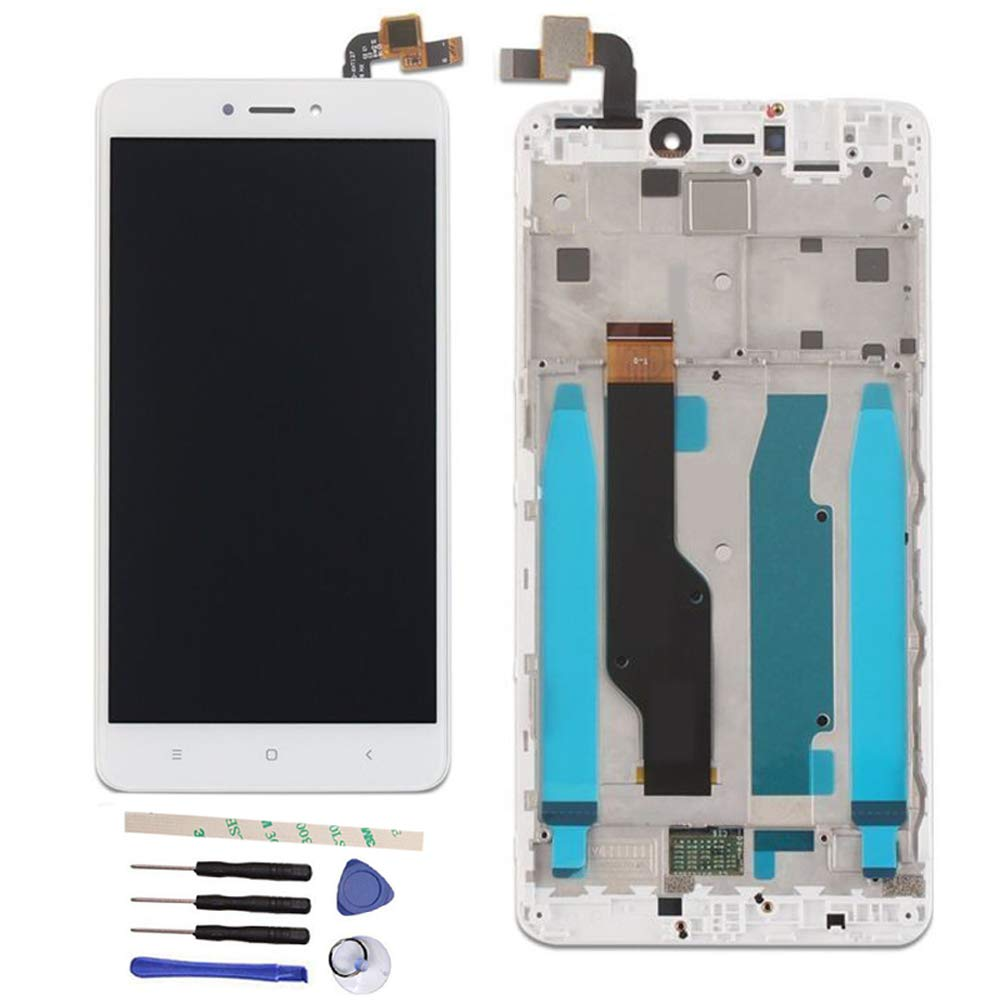 eb05ab480e43 LCD Display Touch Screen Digitizer Assembly Replacemnt with Frame for Xiaomi  Hongmi Redmi Note 4 Global Version Qualcomm Snapdragon 625   Redmi Note 4X  ...