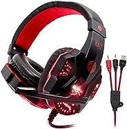 Headphone Gamer HAIZ Deneb Led Fio Corda Super Microfone