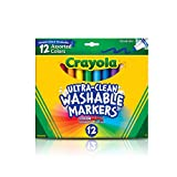 Toys : Crayola 12 Ct Ultra-Clean Washable Markers
