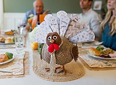 Turkey On The Table Book and Activity Kit - Give Thanks and Start a New Thanksgiving Tradition by TOTT Products, LLC.