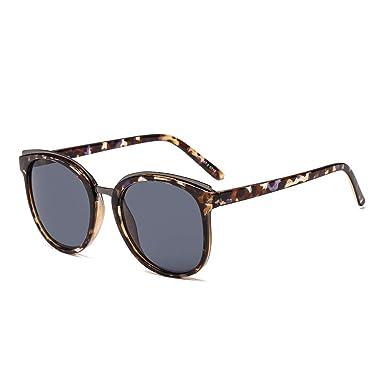 Suertree Gafas de sol cuadradas de metal Vendimia Ojo de ...