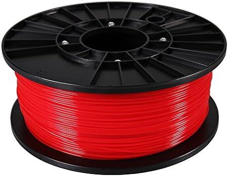 Patona 3d printer filamento PLA rojo (Bobina/1 kg/1,75 mm): Amazon ...