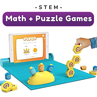 Shifu Plugo STEM Pack - Math & Construction (Link & Count), Augmented Reality Games with Fun Building Blocks | Cool Math Game for Ages 5-10 Years Boys & Girls Pre-K to Grade 5 (App Based): Toys & Games