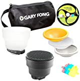 Gary Fong Fashion and Commercial Lighting Flash Modifying Kit (Black/White/Gray/Amber)