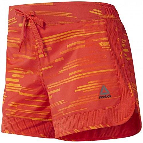 Reebok Damen WOR URBEAM Shorts Kurze Hose, Orange (Firspa