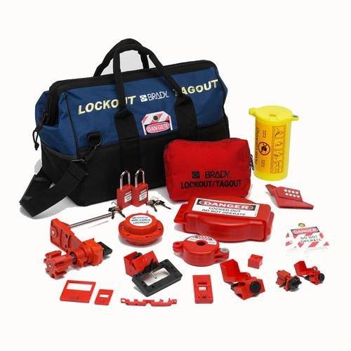 Portable Lockout Kit, Electrical/Valve, 17