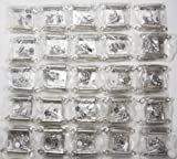 Lot of 25 Pairs (50pcs) Self Closing OVERLAY Flush Cabinet...