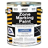 Zone Marking Paint, White, 1 gal.