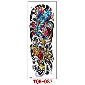 Etiqueta engomada del tatuaje temporal Brazo de la flor Brazo ...