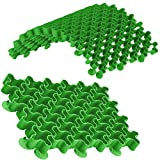 Standartpark - EasyPave Grid Green - 2' Depth Permeable Paver System 88,000 LB Load Rated - DIY - RV Pads, Driveways, Parking, and More! (50 SQ FT)