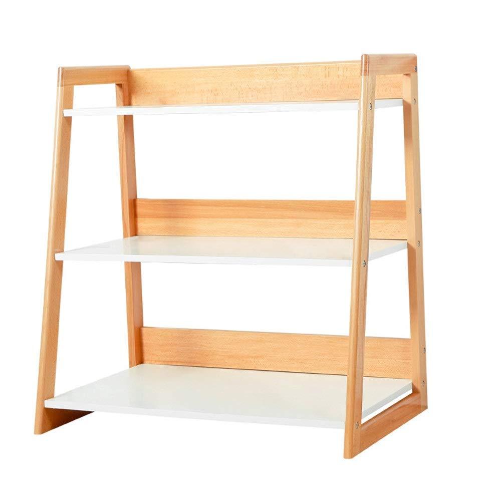 Niños Estantería de libros Escalera Unidad Plataforma Plataforma Permanente Nivel 3 Estante de madera estante de exhibición de la Unidad de Almacenamiento Color almacenamiento y librero Roble habitaci: Amazon.es: Hogar
