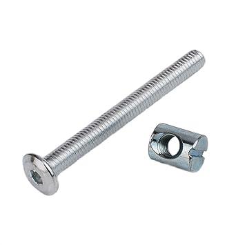 """12 x Aluminium barrel//Door bolt 60mm 2.5/""""  NEW"""