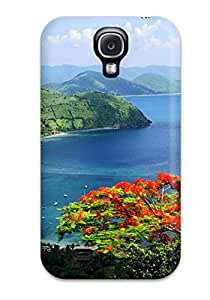 For Galaxy S4 Protector Case British Virgin Islands Phone Cover
