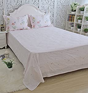 First The Good Points: A Lovely Print, Zippered Pillow Cases, And Piping  That Matches The Edges Of The Mattress. The Cotton Is Wonderfully Crisp And  ...