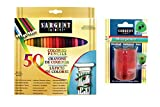 Sargent Art Sargent Art-22-0084 Combo 50 Count Colored Pencil Sharpener