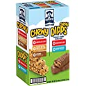 58-Count Quaker Chewy Granola Bars and Dipps Variety Pack