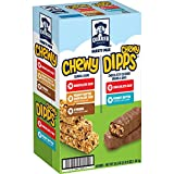 Quaker Chewy Granola Bars and Dipps Variety Pack, 58 Count