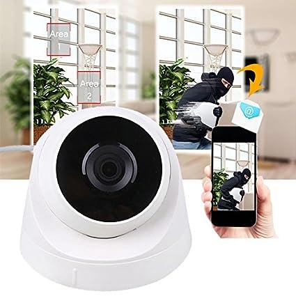 Giantree Cámara de seguridad IP PoE Dome, 1080P HD Zoom Cámara de visión nocturna IR