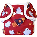 Bummis Super Snap Diaper Cover, Rocket, Small (Discontinued by Manufacturer)