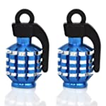 TRIXES Blue Pair of Hand Grenade Allo...