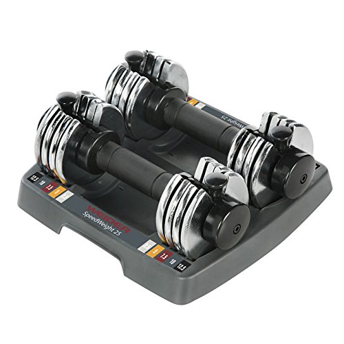 Weider PowerSwitch 12.5 lb. Adjustable Dumbbell Set