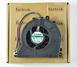 Eathtek New Laptop CPU Cooling Fan For Acer Aspire Revo R3610, Compatible with part number MF40100V1-Q000-S99 (Note: The part# may be different)