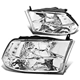 DNA Motoring HL-OH-DR09QUA-CH-CL1 Headlight Assembly, Driver and Passenger Side