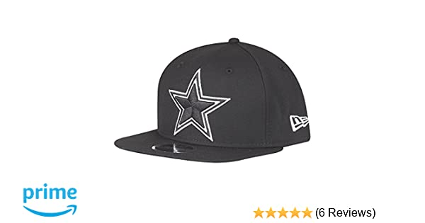 29360c37 New Era NFL Dallas Cowboys Black White Logo Snapback Cap 9fifty Limited  Edition
