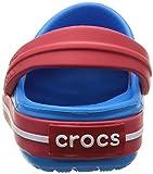 Crocs Crocband Unisex Kids' Clogs - Blue (Ocean/Red), C4-5 UK (19-21 EU) Bild 2