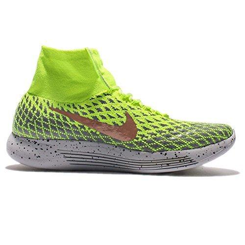 Nike-Mens-LunarEpic-Flyknit-Shield-Running-Shoes-115-DM-US-VoltMetallic-Red-Bronze-dark-Grey